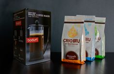 Crio Starter Set | Crio Bru with Ghana French Roast, Venezuela Medium, and Peppermint