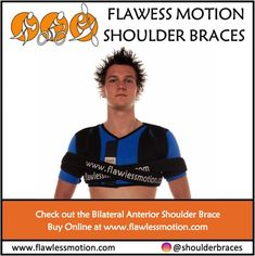 The unique design of the Bilateral Anterior Shoulder Brace offers anterior support for both shoulders. The best braces for support both shoulders is the Flawless Motion Bilateral Anterior shoulder brace.   Protects against shoulder injuries during intensive activities.  #bilateral shoulder braces #bilateral shoulder brace #shoulderinjuriessuck #bothshoulders #shouldersurgerysucks #shoulderrehab Shoulder Rehab, Shoulder Brace, Shoulder Surgery, Strengthen Shoulders, Shoulder Injuries, Injury Prevention, Nice Body, Braces, Stretch Fabric
