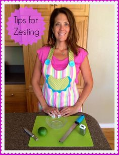 Tips for Zesting - Cooking With Ruthie