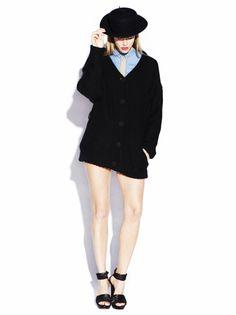Angora Cardi - Black » Freudian Kicks » Designers » Freudian Kicks