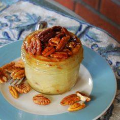 Fudgy Pecan Pie in a Jar Savory Summer Treat by LetThemEatPie, $7.50