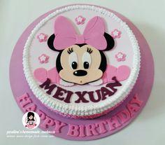 ♡ BB Minnie ♡ Design Fresh Cream Cake