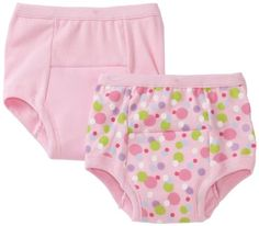 Green Sprouts Girls-baby Infant Training 2 Pack Underwear, Pink, 24 Months - $12.52 - 34% off.