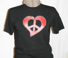 Valentine's Day T-shirt Red Heart T-shirt by TeesandTats on Etsy