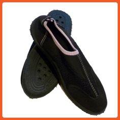 Beach Socks Womens Black & Pink Aqua Socks Water Shoes beach 10 - Outdoor shoes for women (*Amazon Partner-Link)