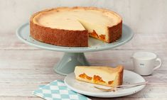 Schmandtorte Rezept | Dr. Oetker Cheesecake, Food And Drink, Cookies, Baking, Sweet, Desserts, Recipes, Yummy Yummy, Muffins