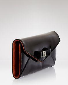 0f9d751d7965 Tory Burch Wallet - Bow Envelope Continental Sale - Handbags -  Bloomingdale s