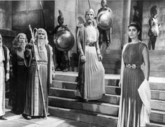 """ΑΝΤΙΓΟΝΗ"" 1961 ""ANTIGONE"" by GIORGOS TZAVELLAS with IRENE PAPPAS, MANOS KATRAKIS,"