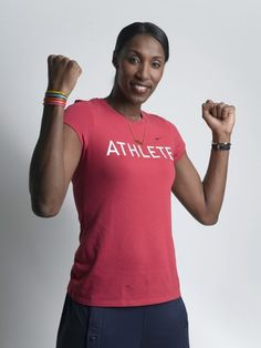 Lisa Leslie, three-time WNBA MVP, a four-time Olympic gold medal winner, and a Girl Scout