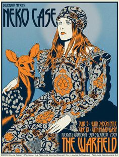 Neko Case by Chuck Sperry.  I swear to God if I can't get/find this poster I will die.