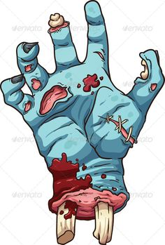 Zombie Hand by memoangeles Zombie hand. Vector clip art illustration with simple gradients. All in a single layer. EPS10 file included.