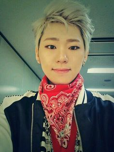 Zico from Block B! He's so awesome, funny and different from the rest and cute! But Taeil came in a close second.