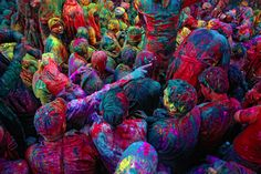 If there is one festival or event I am dying to attend it is Holi, the Hindu festival of colour. This past weekend Holi was celebrated in India as well as Nepal, Sri Lanka and several other countries with large Indic populations. There is plenty of fascinating history and rituals tied to the annual festival that you can read about.