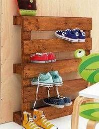 pallet shoe organizer