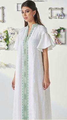 Iranian Women Fashion, Arab Fashion, Muslim Fashion, African Fashion, Kaftan Designs, Denim Maxi Dress, Caftan Dress, Morrocan Dress, Casual Dresses