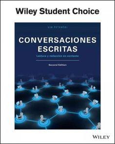 Conversaciones escritas / Written Conversations: Lectura Y Redaccion En Contexto / Reading and Writing in Context