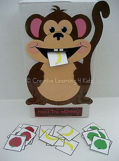 Articulation S Freebie Feed The Monkey Game Stepping