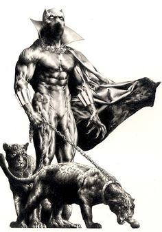 Black Panther •Jay Anacleto                                                                                                                                                                                 Mais