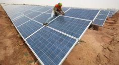India to build world's largest solar plant : Nature News & Comment Solar Panels, Worlds Largest, India, News, Building, Outdoor Decor, Nature, Plants, Sun Panels