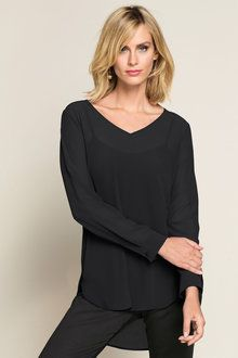 Capture High Low Tunic High Low, Women Wear, Tunic, Blouse, Long Sleeve, Sleeves, Ideas, Tops, Fashion