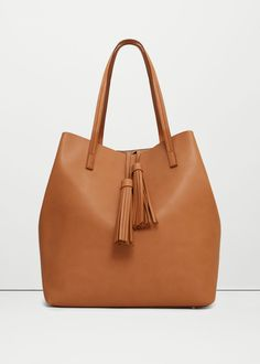 Tassel shopper bag | MANGO
