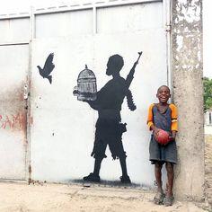 Matonge, Kinshasa.... P R E C I O S O. quisiera una pared para ponerlo. significativo, muy significativo.