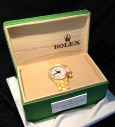 Rolex watch  Cake by Symphony in Sugar  More Fashion At  www.thedillonmall.com