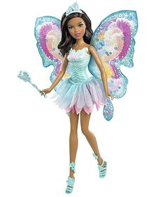 This Fairytale Magic Nikki doll brings a touch of enchantment to playtime. Nikki Wears a fairy princess outfit, and comes With jeWelry and a magic Wand. Ages 3+