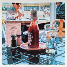 Ketchup Bottle by Ralph Goings, American (1928 - ), circa 1990