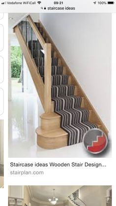 Houston Oak Staircase ideas with glass balustrades Banister Rails, Banisters, New Staircase, Staircases, Staircase Ideas, Stairs Design Uk, Staircase Contemporary, Staircase Manufacturers, Oak Handrail