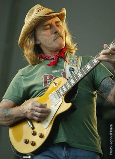"""Dickey Betts; I'm the famous guitar player,"""" the late Duane Allman said, """"but Dickey is the good one."""" The two spent less than three years together in the Allman Brothers Band, but they established an epic rapport – jamming at length, trading solos and playing their famous twin-guitar leads. After Allman's death in 1971, the group continued with Betts, scoring with """"Ramblin' Man"""" and """"Jessica."""""""
