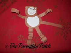 Construction Paper Monkey Craft | The Parenting Patch