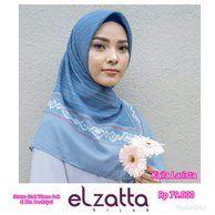 Tutorial Hijab Elzatta Segi Empat Terbaru Hijab