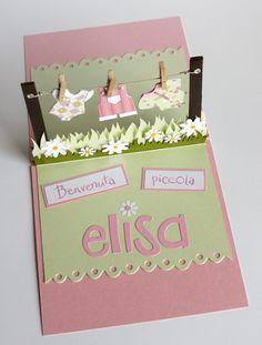 Anche se un po' in ritardo eccomi a dare il benvenuto alla piccola Elisa che è nata il 24 giugno con diversi giorni d'anticipo (ma queste El...