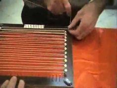 kasnakta örtü çivili kasnakta örtü yapılışı 1. bölüm7-40 - YouTube