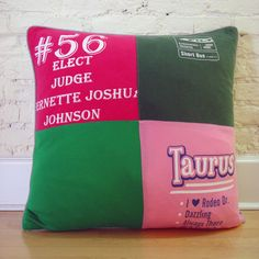 I already have tee shirt blanket. I think it's time for pillows too!