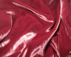 Silk Velvet Fabric Panel Turquoise Pink Swirl