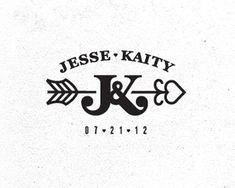 Now this is a beautiful wedding monogram. #logo