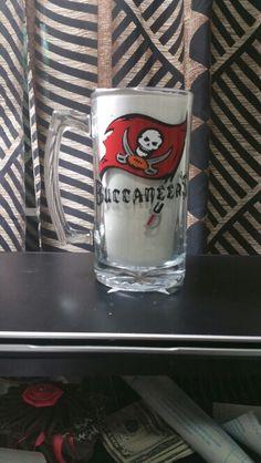 Buccaneers beer mug