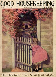 Good Housekeeping Cover - Jul 1922  Illustration by Jessie wwilcox Smith