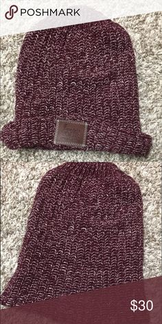 c25c0e254a7 Love Your Melon Hat Never worn. Maroon Love Your Melon hat. Big enough to