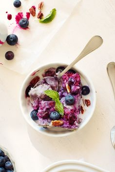 Blueberry Coconut Baked Steel Cut  Oatmeal from Family Fresh Cooking
