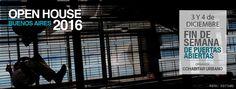 OPEN HOUSE | FIN DE SEMANA DE PUERTAS ABIERTAS  Open House ofrece la oportunidad de ingresar y recorrer en forma gratuita aquellos edificios privados o públicos que normalmente se encuentran cerrados al público general.  Sábado 3 y domingo 4 de diciembre de 2016.  Más info: http://ly.cpau.org/2fgiTiN  #AgendaCPAU #RecomendadoARQ