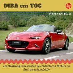 Qual a relação entre a Teoria das Restrições (ToC) e o Mazda MX5? http://www.goldrattconsulting.com/Made_By_TOC  Quer saber mais sobre a ToC? http://www.cltservices.net/pt-pt/formacao/formacao-a-distancia-b-elearning/mba-teoria-das-restricoes