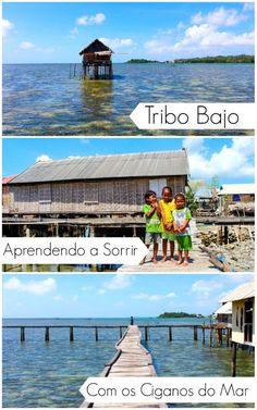 Aprendendo a sorrir com os ciganos do mar em Wakatobi, Indonésia! Como é viajar para Wakatobi e conhecer a Tribo Bajo, descobrir a beleza de estar rodeado por natureza, e as dificuldades de viver no mar.