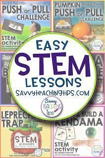 Never taught STEM before? These step-by-step lessons are great for teaching Science, Engineering, Technology and Math
