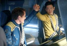 Star Trek Beyond... Chekov and Sulu