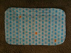 Easy diaper changing pad tutorial