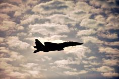 11/18/2013 - An F-15E Strike Eagle aircraft flies over Seymour Johnson Air Force Base, N.C, during Exercise Razor Talon, Nov. 15, 2013. Razor Talon is a monthly joint-force exercise that combines resources from multiple installations across the East Coast. (U.S. Air Force photo by Tech. Sgt. Brittany E. Jones)