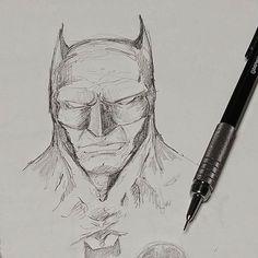 Bat-doodling to keep my brain awake today. #Art #Batman #Comics #DCcomics #Artist #Drawing #Illustration #DailyArt #InstaDraw #InstaArt #InstaArtist #InstaGood #WorldofArtists #RochesterArtist #Pencil #Sketch #Doodle #Sketching #PencilDrawing #SketchBook #Portrait #Hero #SuperHero